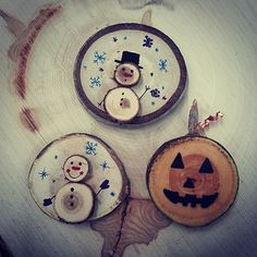 Playing around with some refrigerator magnets tis the season! Any more ideas for cute holiday magnets or ornaments? Post them in the comments! Wooden Crafts, Diy And Crafts, Holiday Crafts, Christmas Diy, Refrigerator Magnets, Chapel Wedding, Wood Ornaments, Wood Slices, Tis The Season