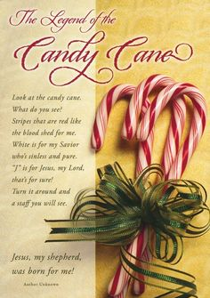 Legend of the candy cane. So that is why we have peppermint candy canes at Christmas time! Meaning Of Christmas, Merry Little Christmas, Christmas Love, Christmas Candy, All Things Christmas, Holiday Fun, Christmas Holidays, Christmas Crafts, Christmas Ideas