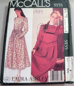 McCalls 9155 Laura Ashley Prairie dress by retroactivefuture, $15.00