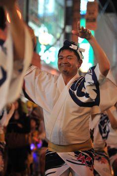 Smiling dancer, Kyodo tenshouren awaodori