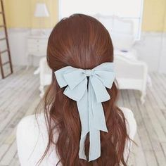 Chiffon Ribbon Hair Pin  from #YesStyle <3 soo n soo YesStyle.co.uk