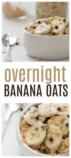 Wake up to our delicious Overnight Banana Chocolate Oats from SixSistersStuff.com!