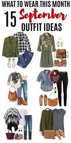 Get some inspiration for what to wear this month with these 15 September Outfit Ideas. Get some inspiration for what to wear this month with these 15 September Outfit Ideas. These early fall outfits will help you get dressed with confidence. September Outfits, Early Fall Outfits, Fall Winter Outfits, Autumn Winter Fashion, Winter Wear, 2016 Winter, Summer Wear, November, Mode Outfits