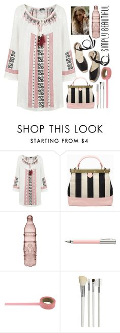 """25.07.16"" by malenafashion27 ❤ liked on Polyvore featuring Topshop, Soludos, Baci, Faber-Castell and Cath Kidston"