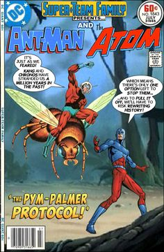 "Super-Team Family: The Lost Issues!: Ant-Man and The Atom in "" The Pym-Palmer Protocol! Marvel Comics Superheroes, Dc Comics Art, Marvel Vs, Comic Book Covers, Comic Book Heroes, Comic Books, Marvel Comic Universe, Comics Universe, Gi Joe"