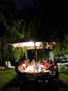 These garden dinners just outside Florence, Italy, are cherished memories and such an inspiration. One day when we're sipping tea, I'll have to tell you about it.