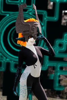 Midna from The Legand of Zelda Cosplay http://geekxgirls.com/article.php?ID=7685