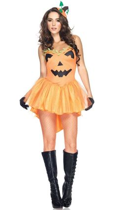 The two-piece, Pumpkin Princess costume includes a tulle petticoat dress with a pumpkin fascinator. (Boots and fishnets not included.) Dress Size (inch) Size Bust(cm) Waist(cm) Hips(cm) Small 81-86 58-64 86-91 Medium 86-94 64-71 91-99 Large 99-102 71-79 99-104 XL 99-107 79-86 104-112 XXL 107-117 87-94 112-119 XXXL 117-122 94-102 119-127 one size 86-102 58-79 90-104