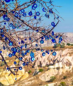 Pigeon Valley Devil Eye tree Cappadocia (Benim Kapadokyam gelmiş sanırım) #kapadokya by ilkinkaracan