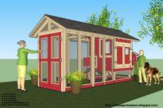 1c1c8854657 home garden plans: - Chicken Coop Plans Construction - Chicken Coop Design  - How To Build A Chicken Coop. Puumarket.ee · TEE ISE koerakuut ...