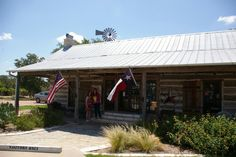 Salado, TX, our visitor's center with super friendly people!
