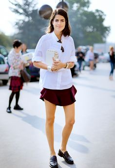 13+Style+Tricks+That+Will+Instantly+Update+Your+Basic+Button+Up+via+@WhoWhatWear