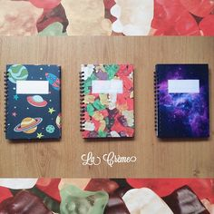 Cuadernos La Crème  #gummybear #galactic #space #cohete #notebooks #ositosdegoma #espacio https://www.facebook.com/brand.lacreme