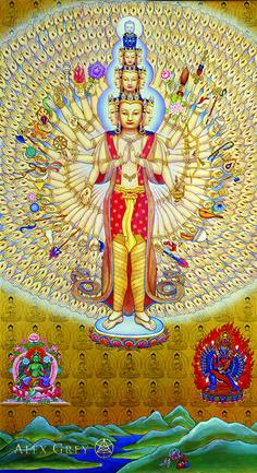 Avalokitesvara - Alex Grey