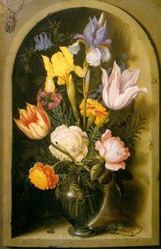 Bosschaert, Ambrosius the Elder (Flemish, approx. 1573-1621). Фламандские художники