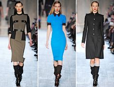 Victoria Beckham's Fall Collection Is An Army Of Tailored Dresses