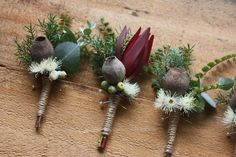 Swallows Nest Farm: Rustic Farm Wedding in North West Tasmania Chic Wedding, Floral Wedding, Our Wedding, Wedding Flowers, Wedding Ideas, Bouquet Wedding, Boutonnieres, Groomsmen Boutonniere, Wedding Flower Arrangements