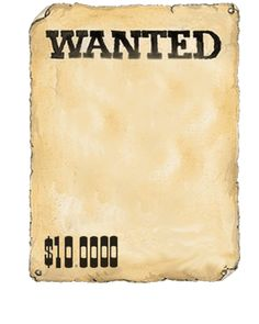 AFFICHE WANTED