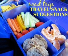 Family Travel: Road Trip Snack Suggestions - great advice if you're driving to Disney World!