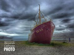 Iceland - Old Ship - null