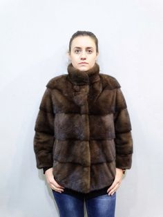 Fur CoatFur JacketReal Fur CoatMink JacketReal by FilimegasFurs Mink Jacket, Brown Jacket, Mink Colour, Chanel Fashion, Mink Fur, Winter Fashion, Fur Coat, Winter Jackets, The Unit