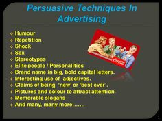 This is a PowerPoint slideshow designed to enable students to see how advertisers use persuasive tools to encourage consumers to buy, to target the audience, to grab their attention and create meaning http://teacherlingo.com/resources/christo/productlist.aspx http://www.teacherspayteachers.com/Store/Christo-Christopoulos