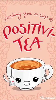 valentines day puns Sending You A Cup Of Positivi Tea pun for a great easy, quick, witty and clever, DIY Valentines Day gift idea for him. These are the best. My Funny Valentine, Valentines Diy, Valentine Day Gifts, Funny Food Puns, Food Humor, Memes Humor, Funny Humor, Tea Puns, Coffee Puns