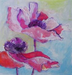 """Poppies from My Garden II"" by Patricia MacDonald"