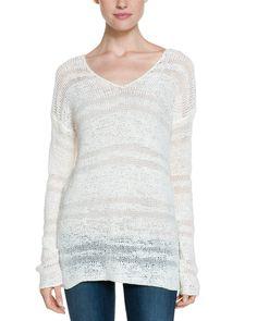 Splendid White Chantilly Tape Yarn Sweater is on Rue. Shop it now.