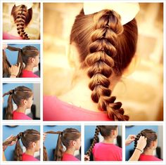 FL   Try This Stunning Pull-Through Braid Hairstyle