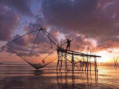 fishing in the tropics