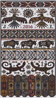Native American Indian - Cross Stitch Patterns & Kits - 123Stitch.com
