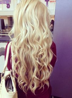 I want these curls