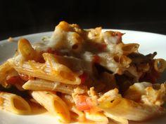 """healthy"" pasta=a key to my heart."