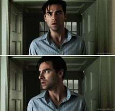 Aidan Turner as Philip Lombard in And Then There Were None
