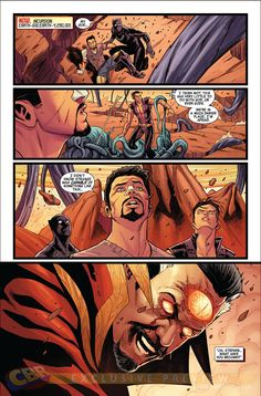 Preview: New Avengers #21, Page 2 of 5 - Comic Book Resources