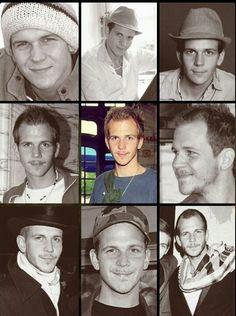 Gustaf Skarsgard Skarsgard Brothers, Skarsgard Family, Gustaf Skarsgard, Floki, Vikings Tv, History Channel, Christian Art, Handsome Boys, Gorgeous Men