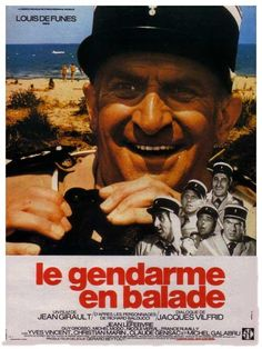 le gendarme en balade Cinema Posters, Film Posters, Best Horror Movies, Good Movies, Jean Lefebvre, Film Le, Film Watch, Best Horrors, French Films