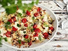 Kasvispaistos Gluten Free Recipes, Baking Recipes, Keto Recipes, Vegetarian Recipes, Healthy Recipes, Food Inspiration, Side Dishes, Good Food, Food And Drink