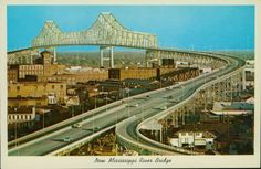 Mississippi River Bridge, New Orleans. http://iloveyoulouisiana.com/