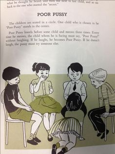 Poor Pussy Is a Real 1950s Party Game (For Kids) (As in, Children). // OMFG...