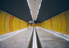 Underground Symmetry: Geometric Shapes in The Subway of Budapest...