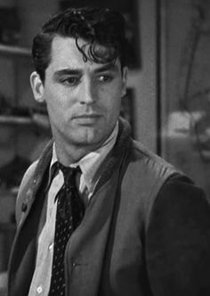 Cary Grant. Always love to see him with slightly messy hair. Oh who am I kidding? Just love to see him any which way!