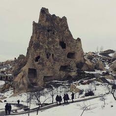 Mosteiro das cavernas - Capadócia.