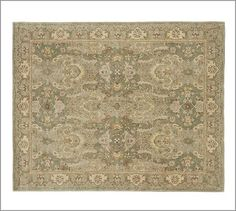 Thyme Persian-Style Rug #potterybarn 5x8 is $449 (before discount)