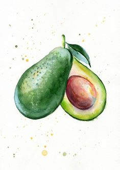 Set of 4 Avocado watercolor Prints - Painting - illustration - Avocado Wall decor - Sweet Fashion print - Fruit Food Kitchen prints This giclee fine art print of my watercolor painting is professionally printed professional pigment inks on watercolor paper. Frame is not included. Your print comes signed and dated below the image, please let me know if youd prefer it unsigned. Also possible this print has date and signature on the back. The size is customizable. Usually I use these sizes: ...