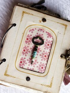 Vintage Photo Mat Journal (no. 03) by Rebecca Sower, via Flickr
