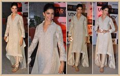 Lov the style of her kurta