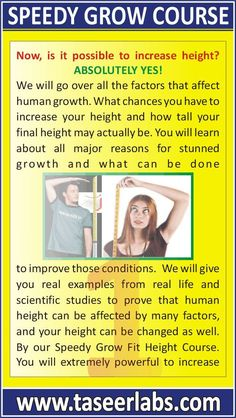 aee1e2c0b5f Fit Height Course can help you grow taller and increase your height  naturally 10 Hormone Supplements