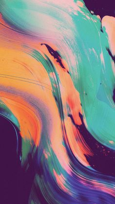 The abstract paintings of Australian artist Jack Vanzet create colourful patterns that are making their way onto album covers the world over. Iphone 6 Wallpaper, Wallpapers Android, Mobile Wallpaper, Wallpaper Backgrounds, Paris Wallpaper, Graffiti Wallpaper, Wallpaper Quotes, Texture Art, Texture Painting